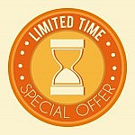 time limited offer
